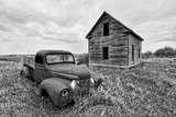 Abandoned Truck Photographic Print by Rip Smith