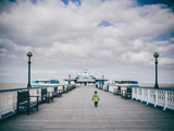 Child on Pier Photographic Print by Clive Nolan