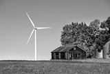 Wind Turbine Photographic Print by Rip Smith