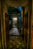 Passageway in Hospital Photographic Print by Nathan Wright