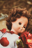 Girls Doll Photographic Print by Steve Allsopp