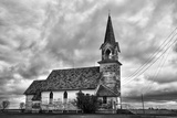 Old Timber Church Photographic Print by Rip Smith