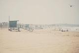 Santa Monica Beach Fotografie-Druck von Laura Evans