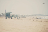 Santa Monica Beach Photographic Print by Laura Evans