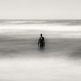 Statue Alone on Beach Photographic Print by Craig Roberts