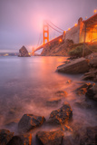 Golden Gate Within The Mist, San Francisco Bay Area Photographic Print by Vincent James