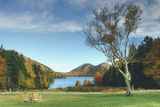 Jordan Pond in Autumn, Acadia National Park Photographic Print by Vincent James