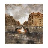 Euro City Bridge Giclee Print by Alexys Henry