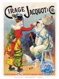 Cirage Jacquot & Co., Art Nouveau, La Belle Époque Art by Lucien Lefevre
