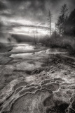 Dark Geo Thermal Energy, Yellowstone Photographic Print by Vincent James