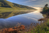 Late Winter Hills and Reflection, Northern California Photographic Print by Vincent James