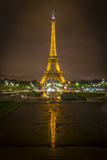 Eiffel Tower Reflection Photographic Print by Marco Carmassi