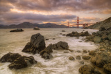 August Evening at Golden Gate Bridge Photographic Print by Vincent James