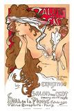 Salon des Cent, Art Nouveau, La Belle Époque Prints by Alphonse Mucha