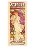 La Dame aux Camelias Art Nouveau, La Belle Époque Prints by Alphonse Mucha
