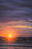 Rising Sun on the Maine Coast Photographic Print by Vincent James