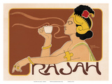 Rajah Coffee Art Nouveau, La Belle Époque Prints by Henri Meunier