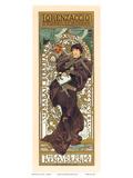 Lorenzaccio, Art Nouveau, La Belle Époque Prints by Alphonse Mucha