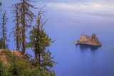 The Phantom Ship, Crater Lake, Oregon Photographic Print by Vincent James
