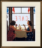 Café Days Print by Jack Vettriano