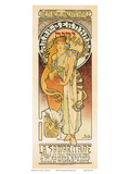 Samaritaine, Art Nouveau, La Belle Époque Prints by Alphonse Mucha