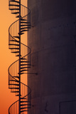 Spiral Staircase at Sunset, Teasure Island Photographic Print by Vincent James