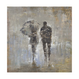 A Walk in the Rain Giclee Print by Alexys Henry