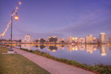 Oakland Lakeside Path, Lake Merritt Photographic Print by Vincent James