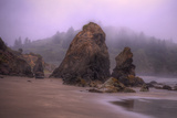 Blustery Beachscape, Trinidad California Coast Photographic Print by Vincent James