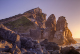 Facing the Sunset at Patrick's Point, California Coast Photographic Print by Vincent James