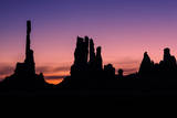 Monuments of the Valley at Dawn, Arizona Photographic Print by Vincent James