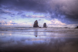 Needles Seascape, Cannon Beach, Oregon Coast Photographic Print by Vincent James