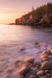 Early Morning Burn at Monument Cove, Otter Point Maine Photographic Print by Vincent James