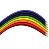 Rainbow Pencils Photographic Print by Magda Indigo