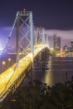 Road Into The City, San Francisco Bay Bridge Photographic Print by Vincent James