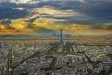 Montparnasse VIew Photographic Print by Marco Carmassi