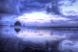 Storm Clearing at Cannon Beach, Oregon Coast Photographic Print by Vincent James