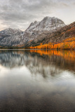 Autumn Reflection at Silver Lake, Eastern Sierras Photographic Print by Vincent James
