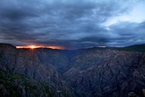 Sunset in Black Canyon of Gunnison Photographic Print by Hansrico Photography