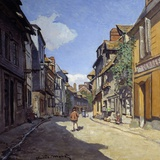Rue De La Bavolle in Honfleur - by Claude Monet Photographic Print