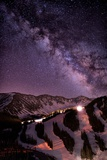 Starlight Mountain Ski Hill Photographic Print by Mike Berenson / Colorado Captures
