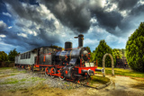 Train Museum, Izmir Reproduction photographique par Nejdet Duzen
