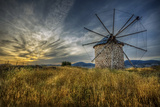 Windmill, Bodrum Photographic Print by Nejdet Duzen