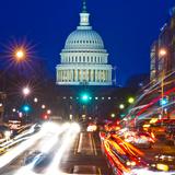 US Capitol, Dusk Photographic Print by Vito Palmisano