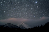 Stars over Rocky Mountain National Park Fotografisk trykk av Pat Gaines