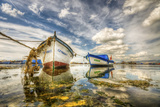Reflections and Boats, Izmir Photographic Print by Nejdet Duzen