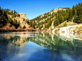 Reflection in Elevenmile Canyon Photographic Print by Dave Soldano Images