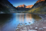 Maroon Lake Sunrise Photographic Print by Piriya Photography