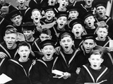 Singing Cadets Photographic Print by Fox Photos
