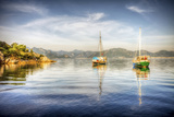 Yacht in Marmaris, Turkey Photographic Print by Nejdet Duzen